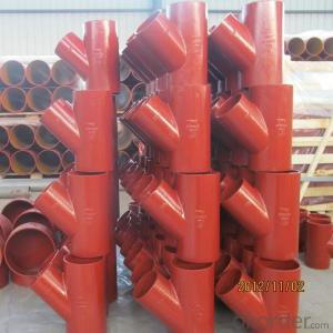 CAST IRON PIPE AND FITTING EN877