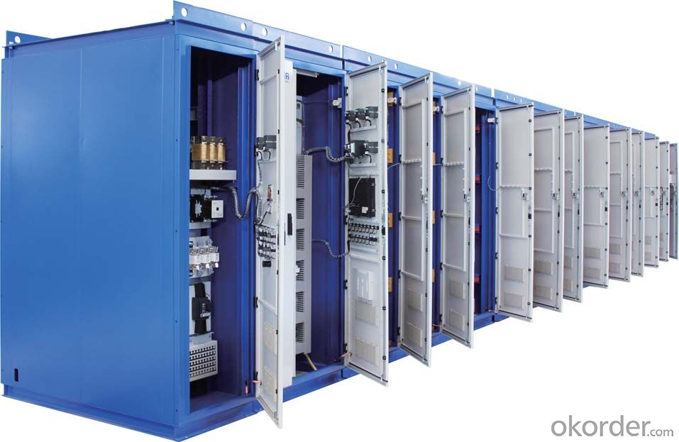 High Medium Voltage Drive 6.6KV 1000KW RMVC4000-A066/1250 VFD