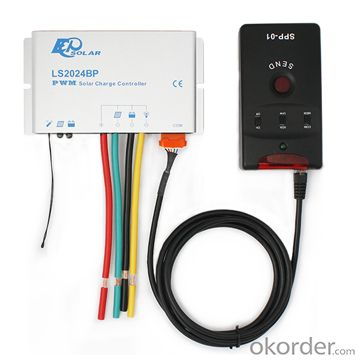 Warterproof PWM Solar Charge Controller 20A,12/24V, LS2024BP