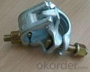 german type fixed clamps couplers