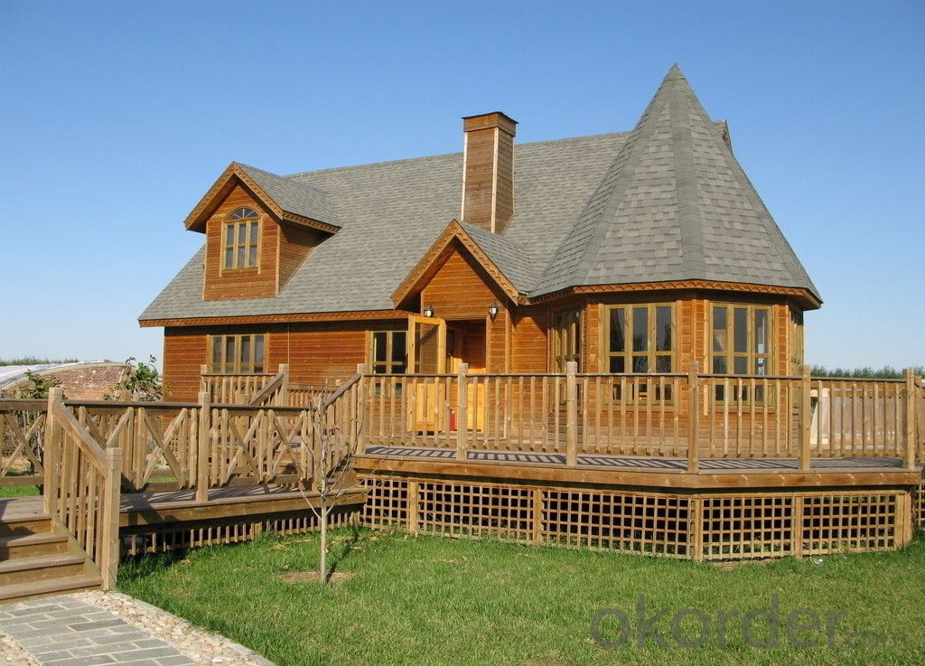 Two-story Prefabricated Living Wooden House