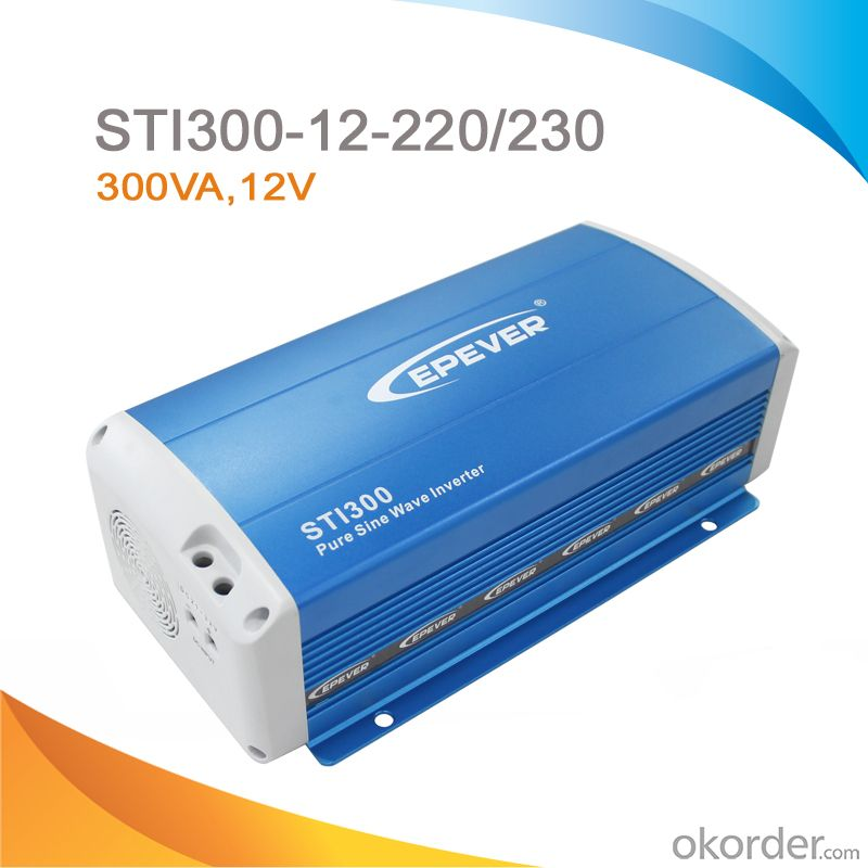 Pure Sine Wave Inverter/Power Inverter 300W, DC 12V to AC 220V/230V STI 300