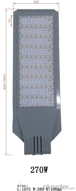 Best quality LED street light 270W