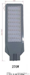Best quality and Best sell in Africa TX006LED street light 270W