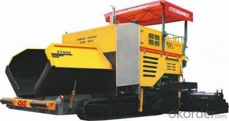 Pavement Machine Maintenance Paver ZT600