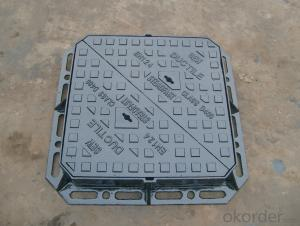 Cast iron composite manhole cover