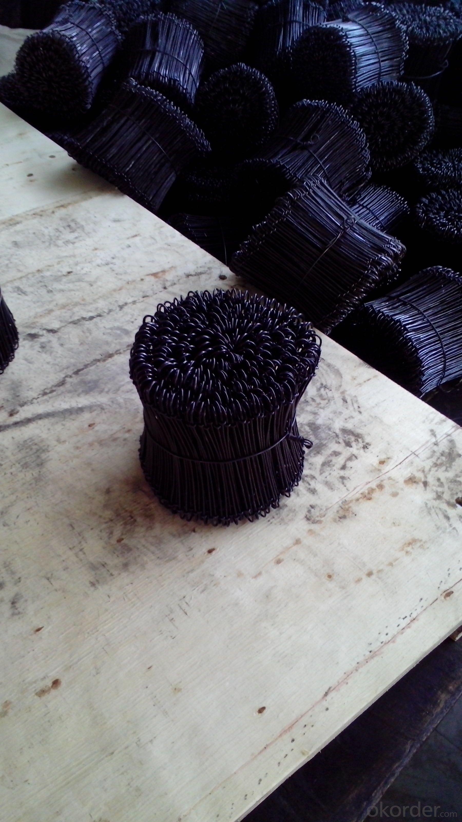 Black Annealed Bag Wire Tie