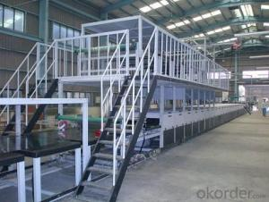 FRP Corugated Panel Laminating Line