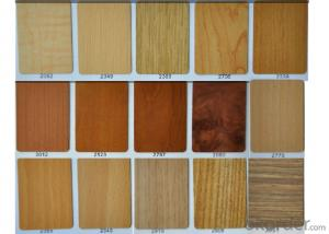 Decoration Grade  HPL Board Wood Grain Series