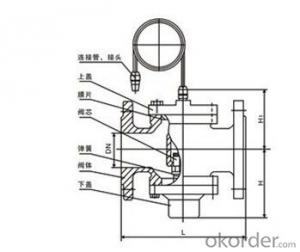 Self-operate differential pressure control valve
