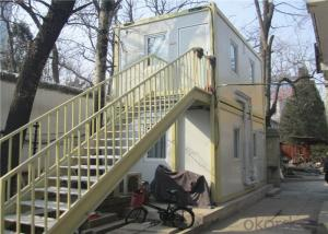 Standard FlatPacked Prefab Container House for Temporary Site Office