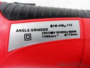 M14-11501 Angle Grinder