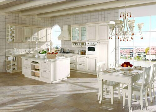 PVC Kitchen Cabinet-Roman Time ZB 011