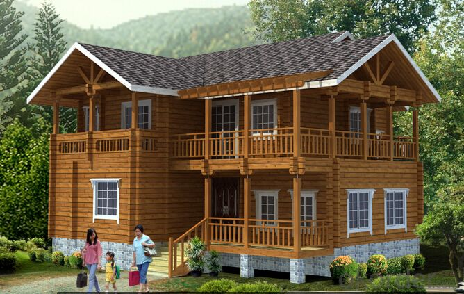 wooden house ANA006