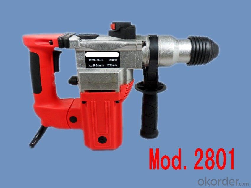 three functions 28mm damping Hammer