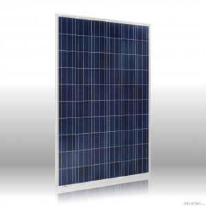 Top supplier high efficiency poly solar module 250w