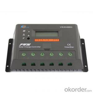 PWM Solar Charge Controller with LCD Display 20A ,12/24/36/48V,VS2048BN