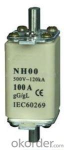 RS0 Series powder-filled fast acting fuse