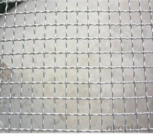 High Quality Stainless Steel Crimped Wire Mesh Made In China CNBM