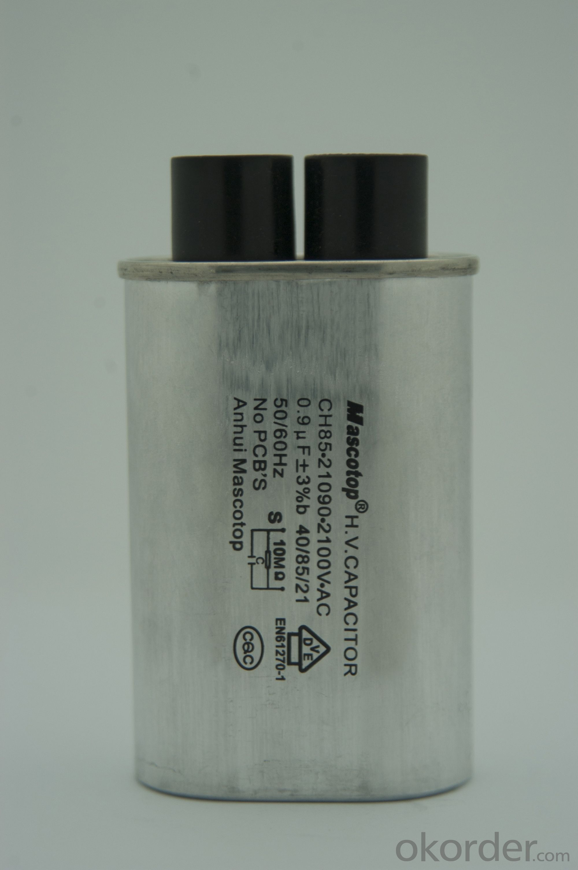 CH85 high voltage microwave oven capacitor