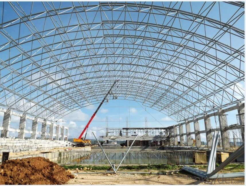 Light Steel Structure of Swimming Pool