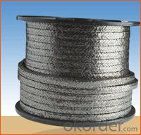 Graphite braided packing