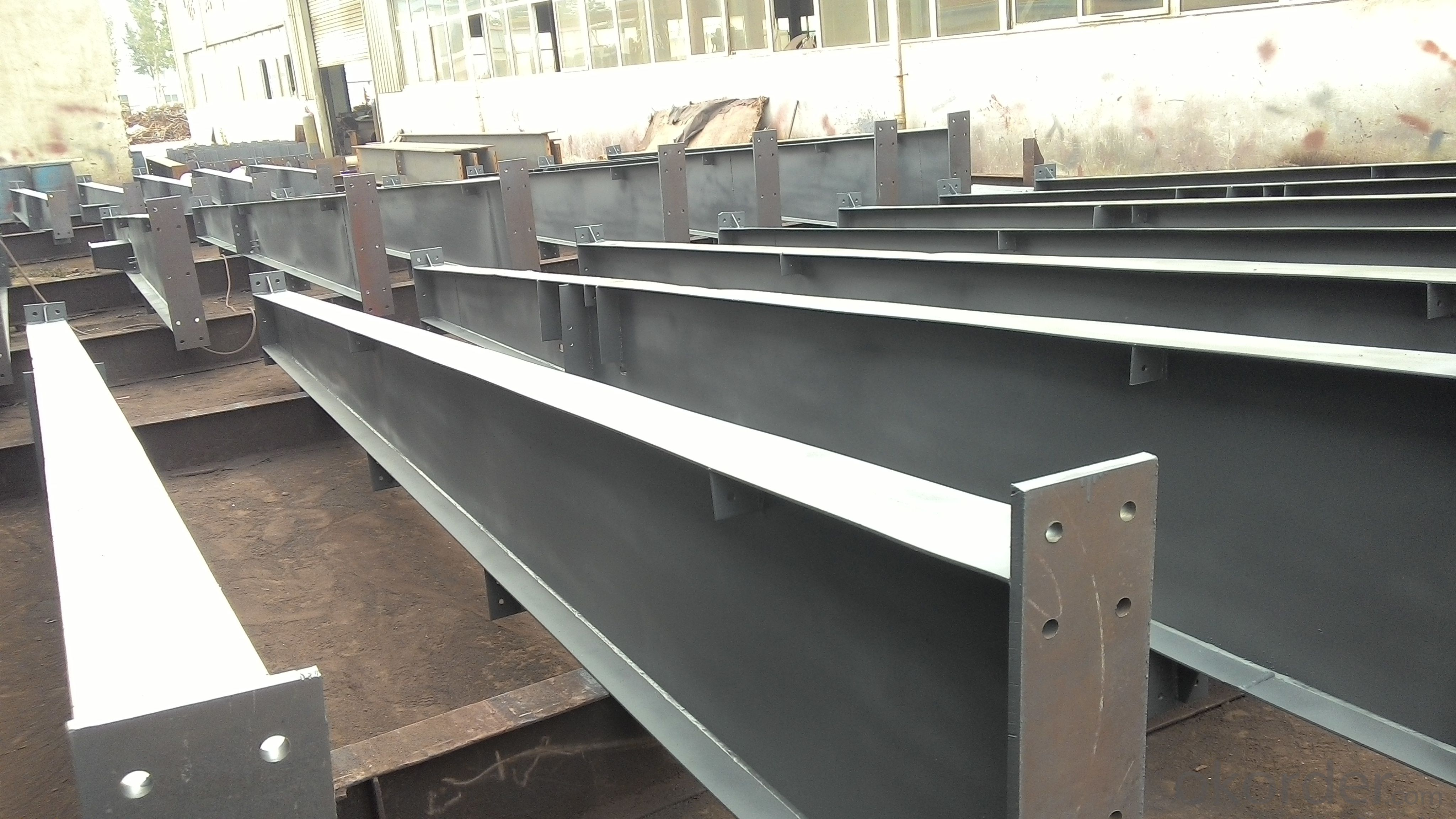 Customized steel structure for bridge