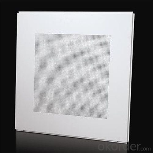 Perforated Lay in Aluminum Ceiling Tiles