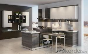 Economical and Practical Project Kitchen Cabinets Melamine ZB 009