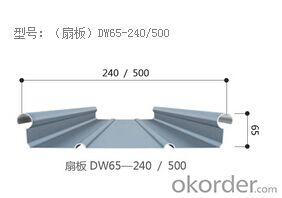DW Al-Mg-Mn metal roof system