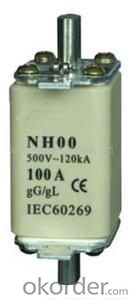 High-voltage current limit fuse for transformer protection