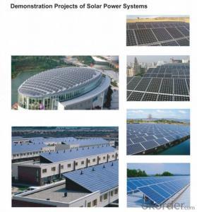 monocrystalline Silicon solar panels 12V 240W  suit for solar led street light