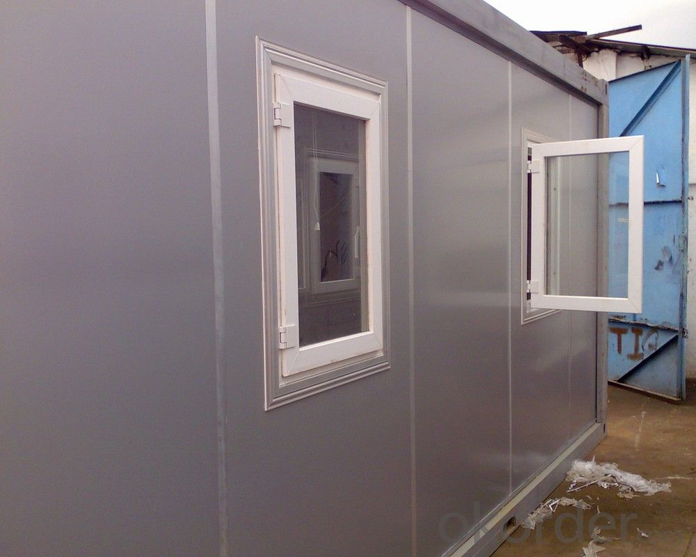 CNBM INTERNATIONAL LOW COST SMALL PREFABRICATED CONTAINER HOUSES