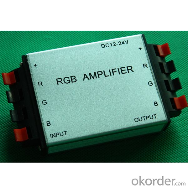 Aluminum clamp RGB Amplifier