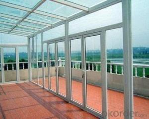 aluminum sliding door windows model in house