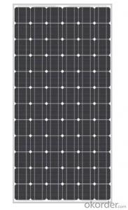 Monocrystalline Silicon Solar Panel Model CR150M-CR200M