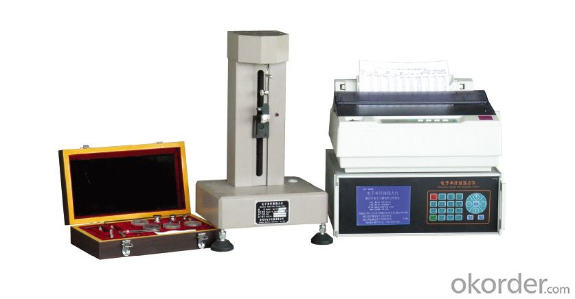 ELECTRONIC SINGLE FIBER STRENGTH TESTER