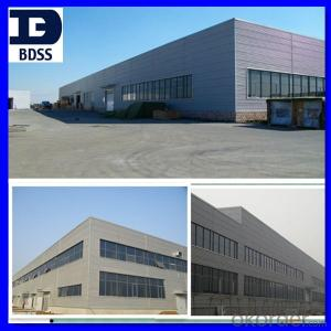 farbricate industrial structural steel warehouse