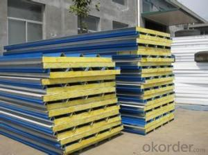 Color Steel EPS Laminboard /laminboard roof panel /paulownia laminboard
