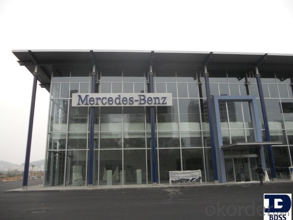 made in China high quality prefab steel structure for car parking