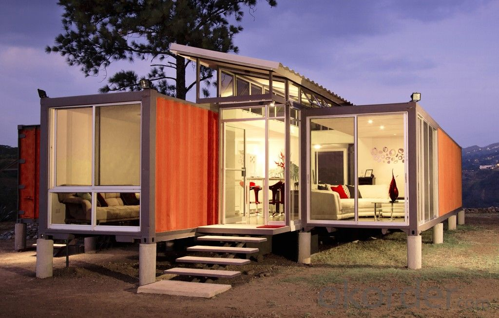 High-grade prefabricated shipping containers 20ft and 40ft