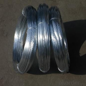 Electro Galvanized Wire For Chain Llink Fence