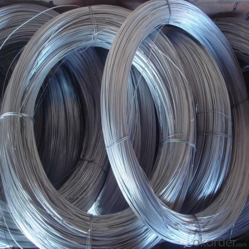 Galvanized Iron Wire For Hexagonal Wire Mesh Panel