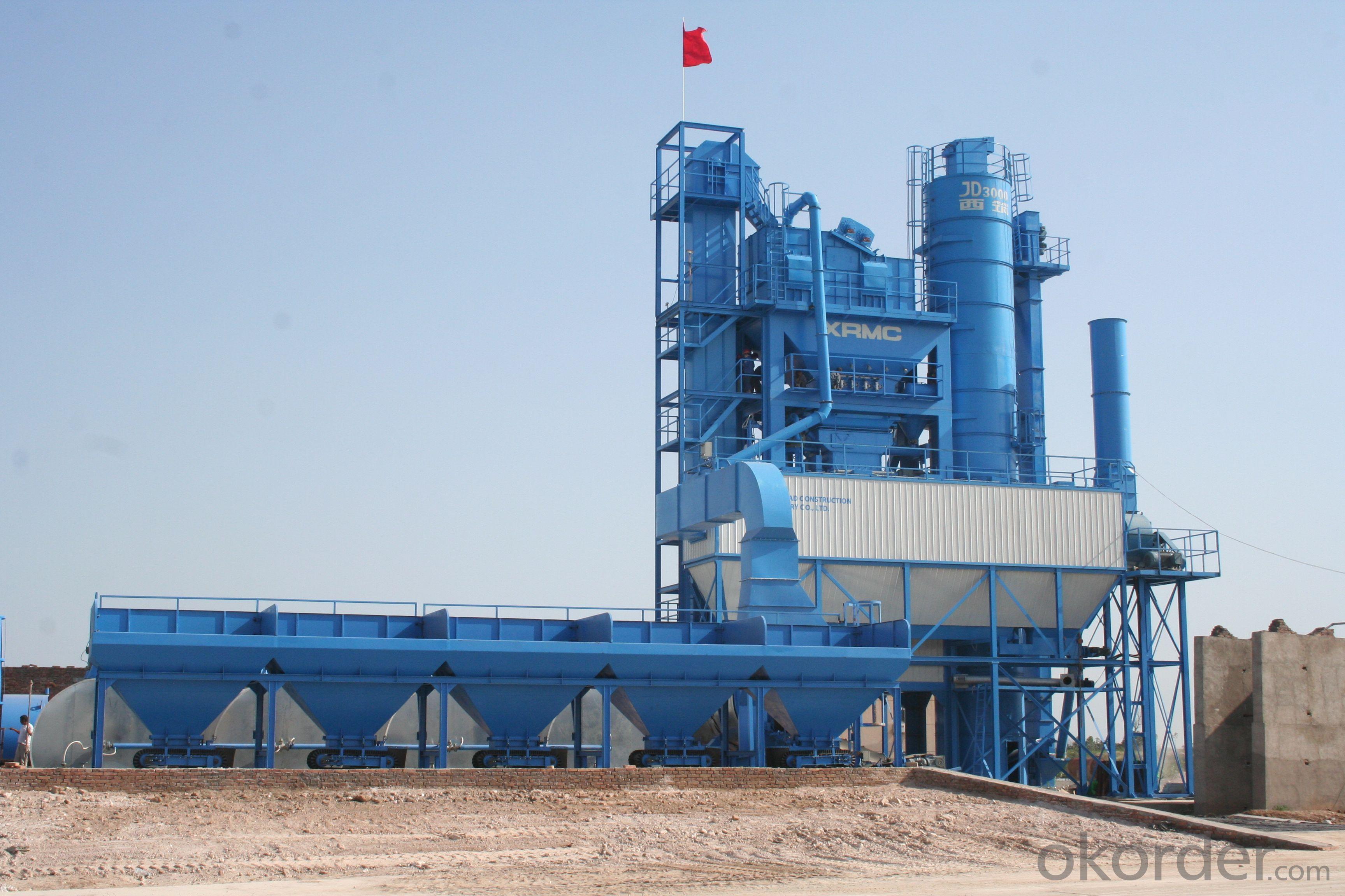 Asphalt Mixing Plant 200-240 tph