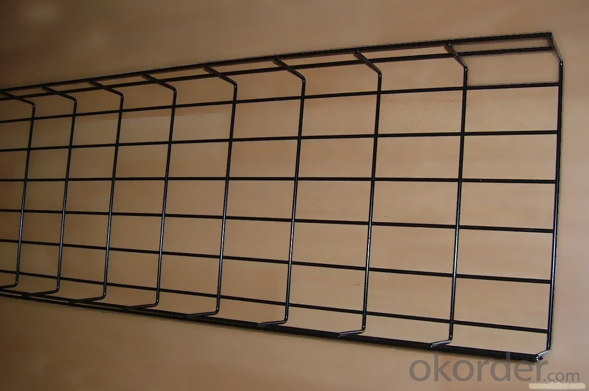 Mesh painting cable tray