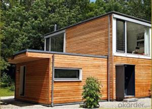 Double luxury prefabricated container houses, are free to mix and match