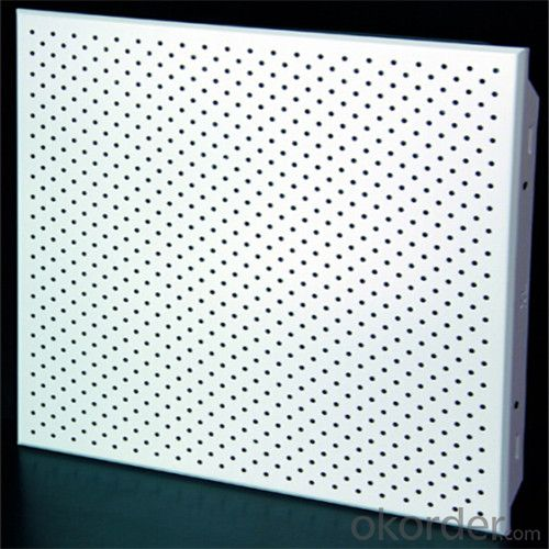 Perforated Clip in Aluminum Ceiling