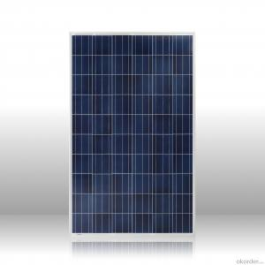 High quality  poly solar panel 250w