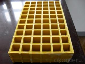 FIBERGLASS REINFORCED PLASTIC (FRP)GRATING 30/1220x3660