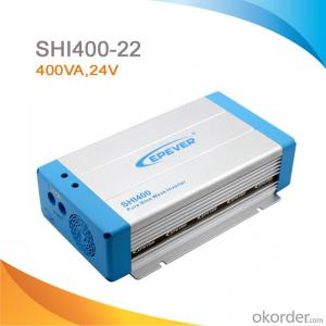 Off-Grid Pure Sine Wave Solar Inverter/Power Inverter 400W, DC 24V to AC 220V/230V SHI400-22
